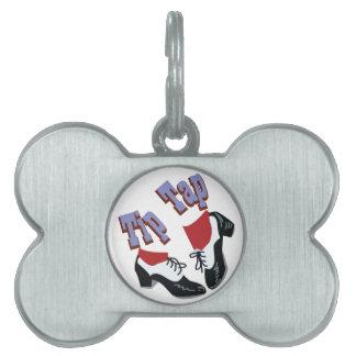 Tip Tap Pet ID Tag