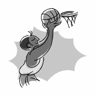 tip the ball in the basket acrylic cut outs