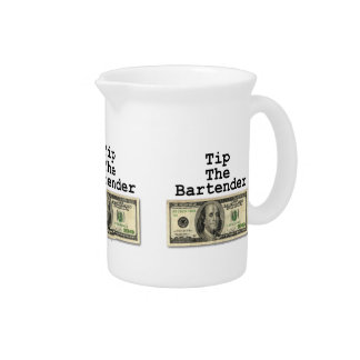 TIP THE BARTENDER Cocktail PITCHER