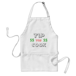 TIP THE COOK ADULT APRON