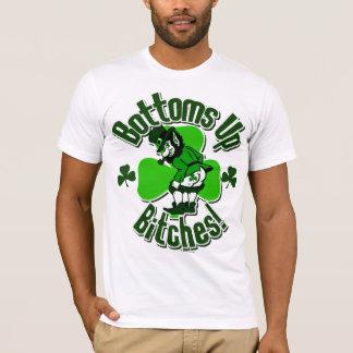 Tip Those Bottoms Up, Leprechauns! T-Shirt
