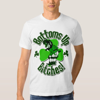 Tip Those Bottoms Up, Leprechauns! Tee Shirts
