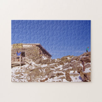 Tip Top Historic Hotel Rocky Mountain Scenery Jigsaw Puzzle
