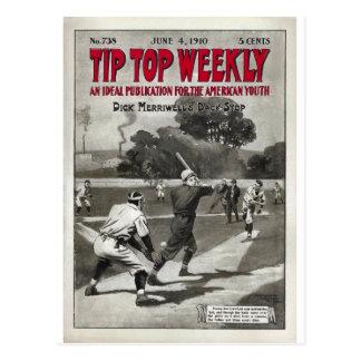 Tip Top Weekly Vintage Sports Magazine Postcard