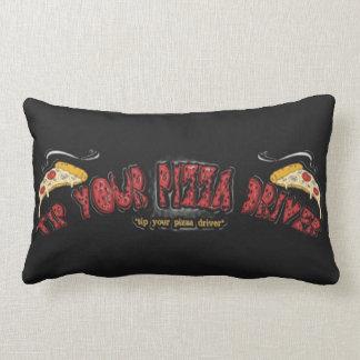 Tip Your Pizza Driver Lumbar Pillow