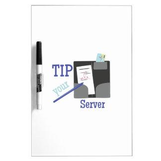 Tip Your Server Dry-Erase Boards