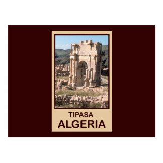 Tipasa Algeria Postcard