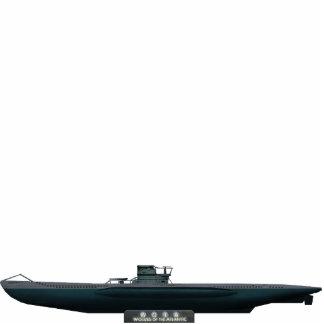 Tipejo VII U-Boat (medium size) Fotoescultura Vertical