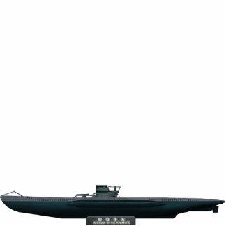 Tipejo VII U-Boat (small) Fotoescultura Vertical