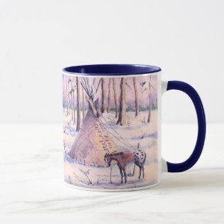 TIPI, APPY & SNOW by SHARON SHARPE Mug