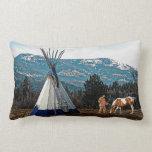 Tipi - Fall Camp Pillow