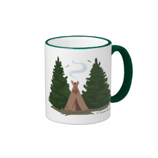 Tipi in the Woods Mugs
