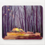 TIPI LEAVES by SHARON SHARPE Mouse Pad
