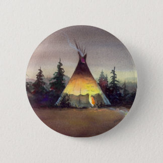 TIPI LIGHTS by SHARON SHARPE Button