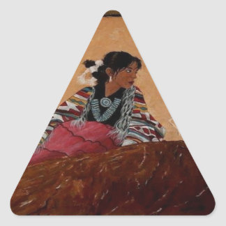 TIPI.png INDIAN Triangle Sticker