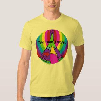 Tipi Time Travel a colorful new original t-shirt