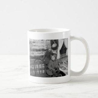Tipler Wisconsin Girls, 1930s Coffee Mug