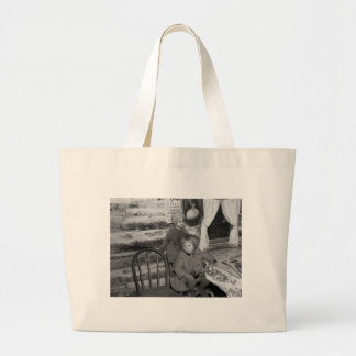 Tipler Wisconsin Girls, 1930s Large Tote Bag