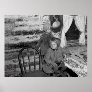 Tipler Wisconsin Girls, 1937 Póster
