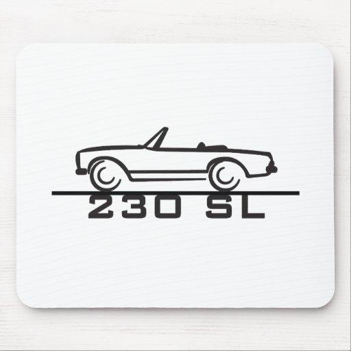 Tipo 113 de Mercedes 230 SL Tapete De Ratones