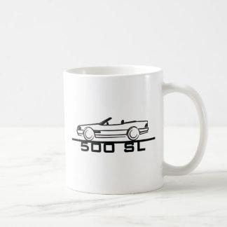 Tipo 129 de Mercedes 500 SL Taza De Café