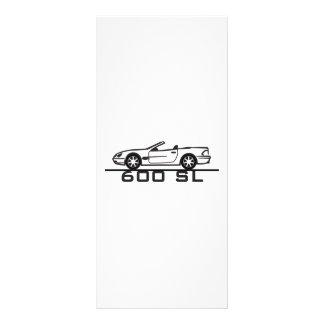 Tipo 230 de Mercedes 600 SL Plantilla De Lona
