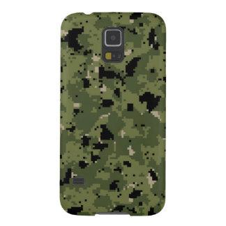 Tipo 3 arbolado Camo de NWU de Digitaces Carcasas De Galaxy S5