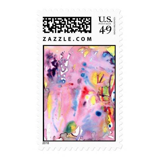 Tipo atado diseño, rosado púrpura del tinte y más envio