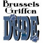 TIPO de Bruselas Griffon Esculturas Fotograficas