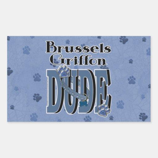 TIPO de Bruselas Griffon Etiquetas