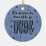 TIPO de Bruselas Griffon Ornatos