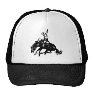 Tipo de caballo salvaje gorras