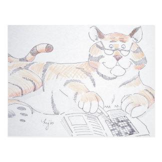 Tipo de gato, 5 letras… postales