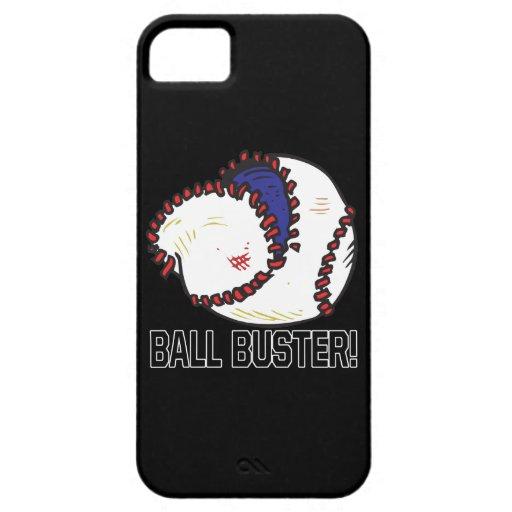 Tipo de la bola iPhone 5 Case-Mate carcasas