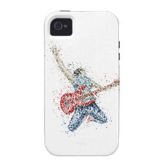 Tipo de la roca vibe iPhone 4 carcasa