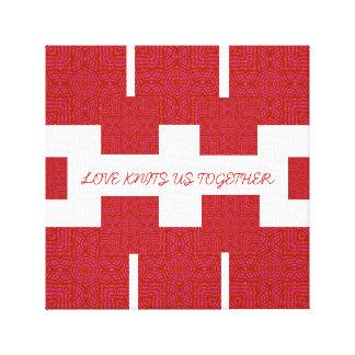 Tipo de medios del AMOR: Lona envuelta premio (lus Impresion De Lienzo