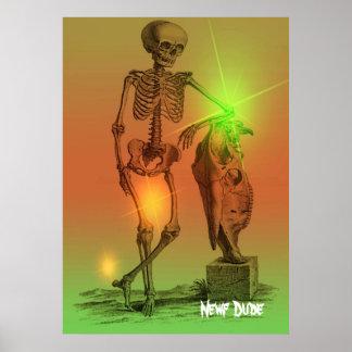 Tipo de Newf Poster