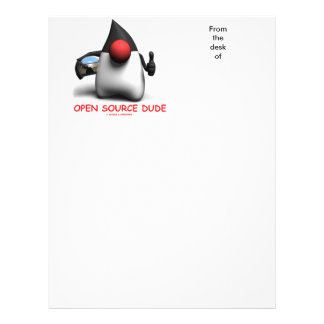 Tipo de Open Source (duque del analista de Membrete Personalizado