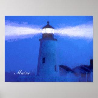 Tipo de papel de Maine: Papel de poster del valor Póster