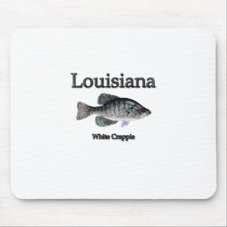Tipo de pez blanco de Luisiana Alfombrillas De Ratón