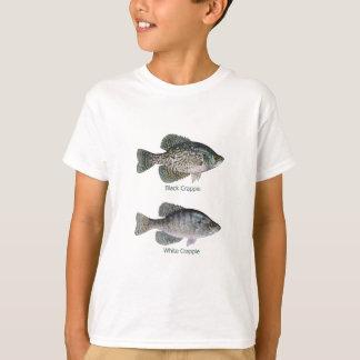 Tipo de pez - blanco y negro playeras