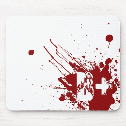 Tipo de sangre positivo de B zombi del vampiro de  Tapete De Raton