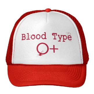 Tipo de sangre positivo de O Gorro De Camionero