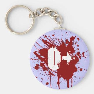 Tipo de sangre positivo de O zombi del vampiro de  Llavero