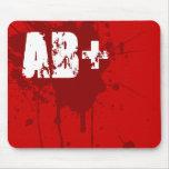 Tipo de sangre positivo del AB zombi del vampiro d Tapete De Ratones