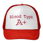 Tipo de sangre un positivo gorras de camionero