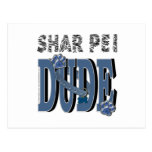 TIPO de Shar Pei Postal