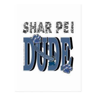 TIPO de Shar Pei Tarjetas Postales