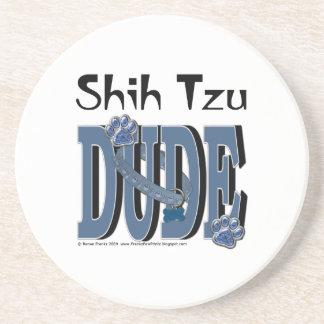 TIPO de Shih Tzu Posavasos Cerveza