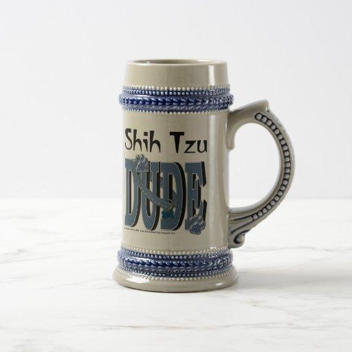 TIPO de Shih Tzu Tazas De Café